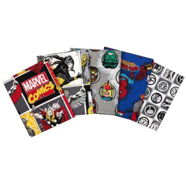 Marvel - Comics - Fat Quarters (13020207)