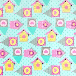 Bird House Cotton Print (2089)