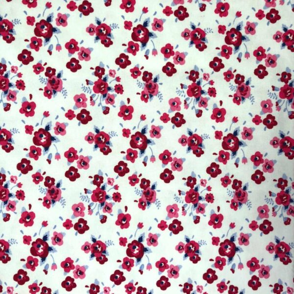 Navy Stripe - Cotton Spandex (2365)