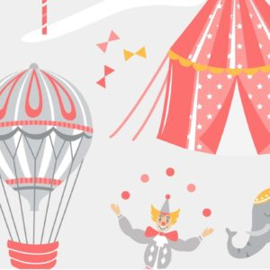 Carnival Circus - Cotton Prints (2376)