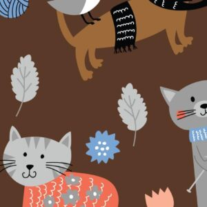 Catz - Cotton Print (2399)