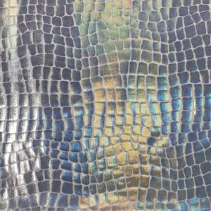 Holo Crocodile - Nylon Spandex (2429)