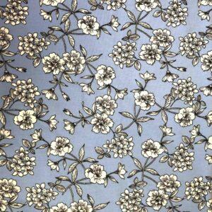 Floral - Cotton Spandex Jersey (2435)