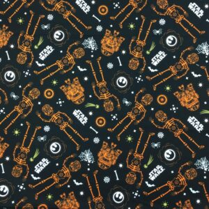 Star Wars - Glow In The Dark Halloween - Cotton Print (73010324)