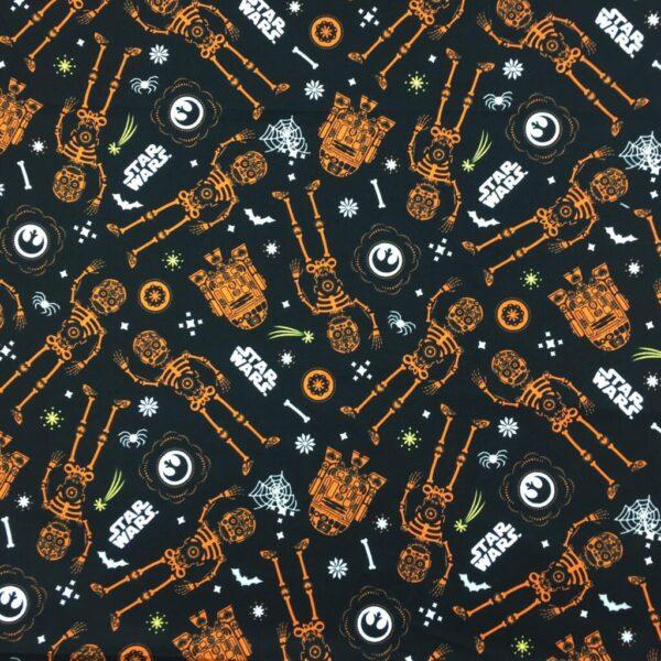 Star Wars - Glow In The Dark Halloween - Cotton Print (73010324)